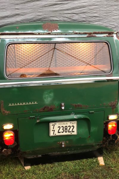 VW Bus Back