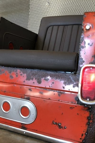 Red 1964 Chevy Truck Chair 1