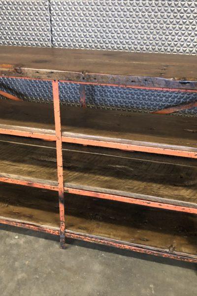 Orange Industrial Shelf
