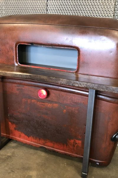 Red '46 Truck Cab Table