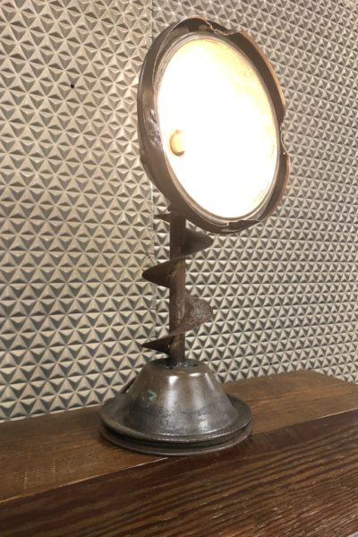 Auger & Model T Lamp