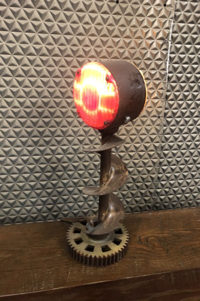 Auger Fender Double Sided Lamp