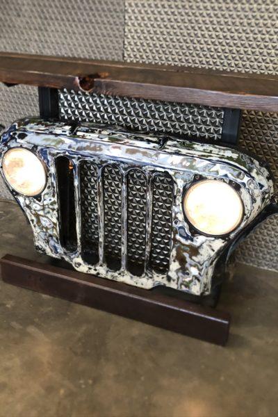 Postal Jeep Table