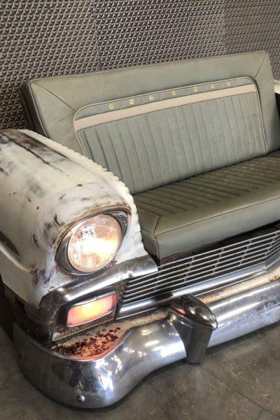 1956 Chevy Bench