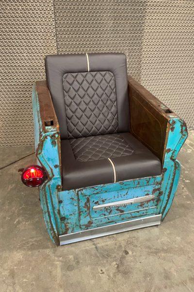 GMC Teal/Blue Chair