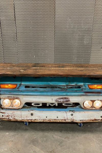 1964 GMC Teal/Blue Bar
